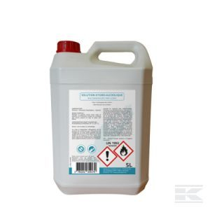 Solution hydro-alcoolique 5 L
