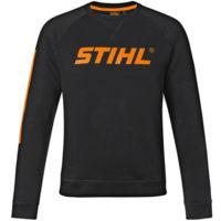 "Sweatshirt noir ""Stihl"""